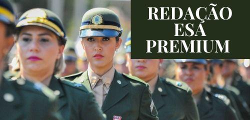 Curso Redação ESA - Premium - 4 redações