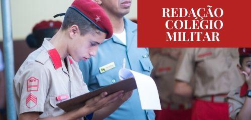 Curso Redação Colégio Militar - Ensino Fundamental