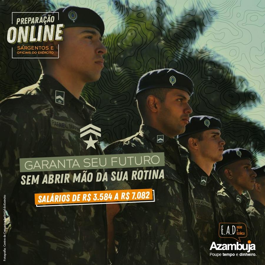 Curso EsPCEx SEMIPRESENCIAL - Escola Preparatória de Cadetes do Exército