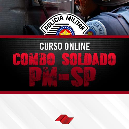 Combo soldado pm sp curso online