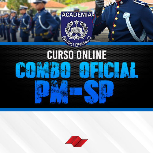 Combo oficial pm sp curso online
