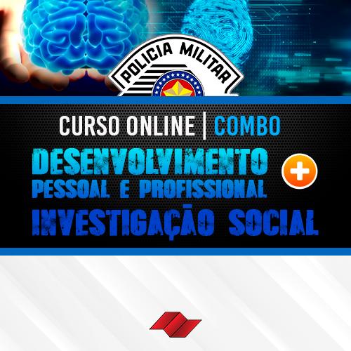Combo pm sp curso online exame psicologico investiga%c3%a7%c3%a3o social