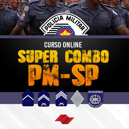 Pm policia militar super combo