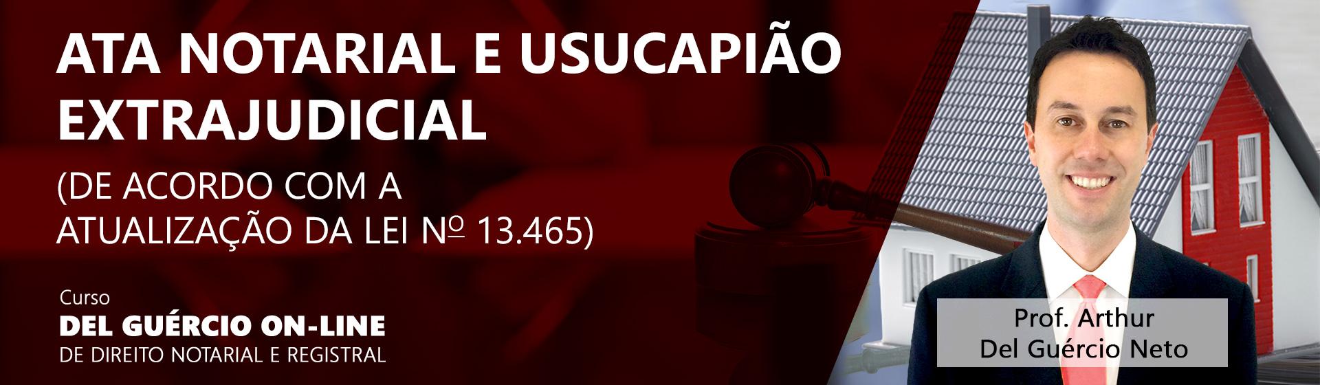 Banner curso ata notarial usucapiao extrajudicial 1920x560