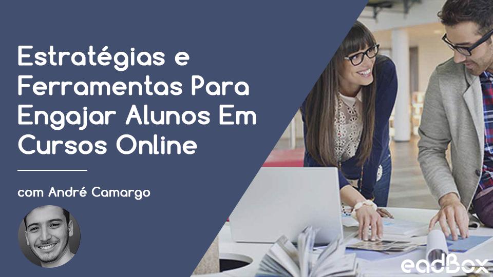 Webinar card estrategias e ferramentas para engajar alunos e cursos online