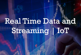 Real time data streaming iot