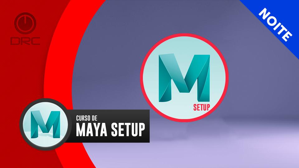 Banner maya setup online ao vivo noite
