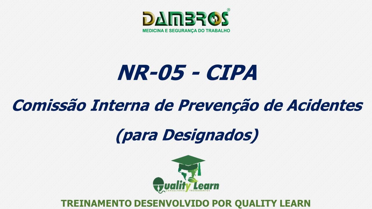 0d38b9fb3bba5 NR 5 CIPA -   Quality Learn Consultoria e Treinamentos Ltda-Me