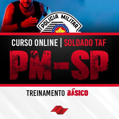 Soldado pm sp curso online taf treinamento basico