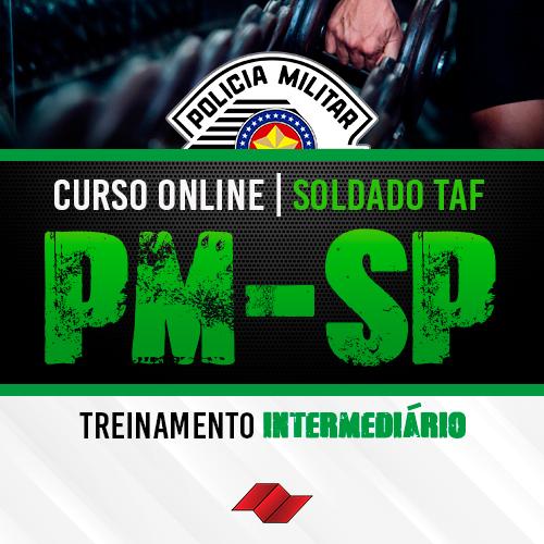 Soldado pm sp curso online taf treinamento intermediario