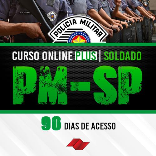 Soldado pm sp curso online 90 dias plus