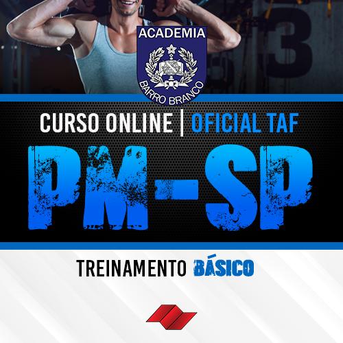 Oficial pm sp curso online taf treinamento basico