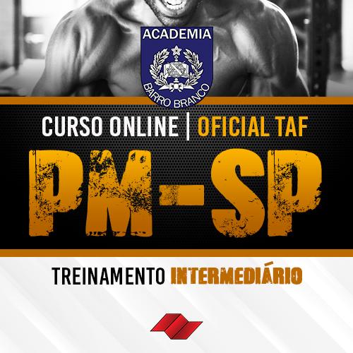 Oficial pm sp curso online taf treinamento intermediario