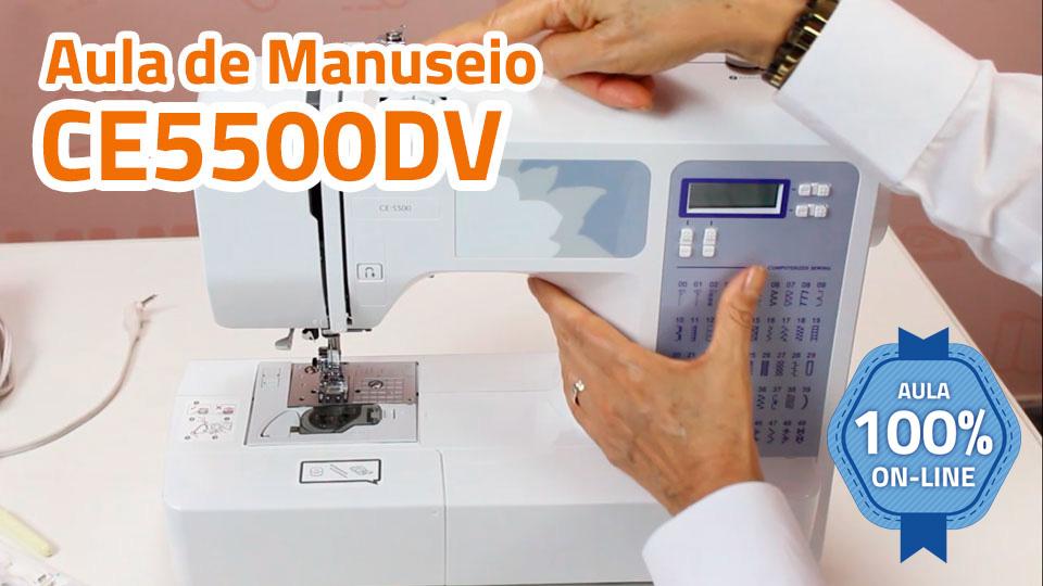 Manuseio ce5500dv