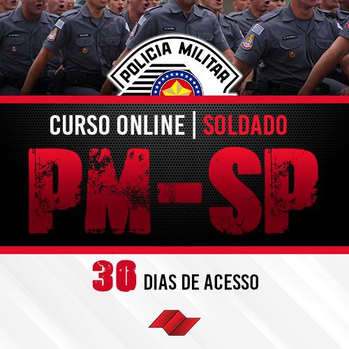 Soldado pm sp curso online 30 dias
