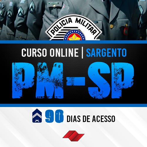 Sargento pm sp curso online 90 dias