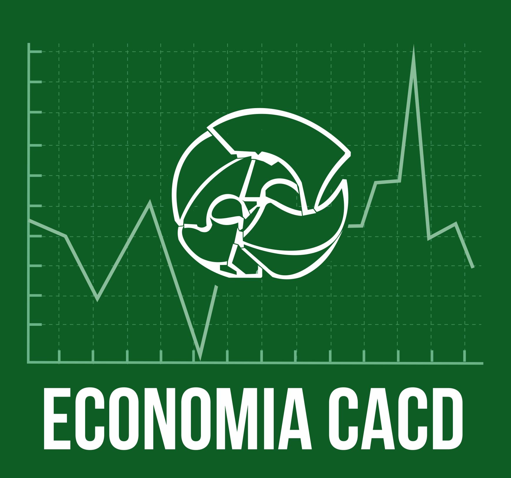 Logo economia cacd fundo verde