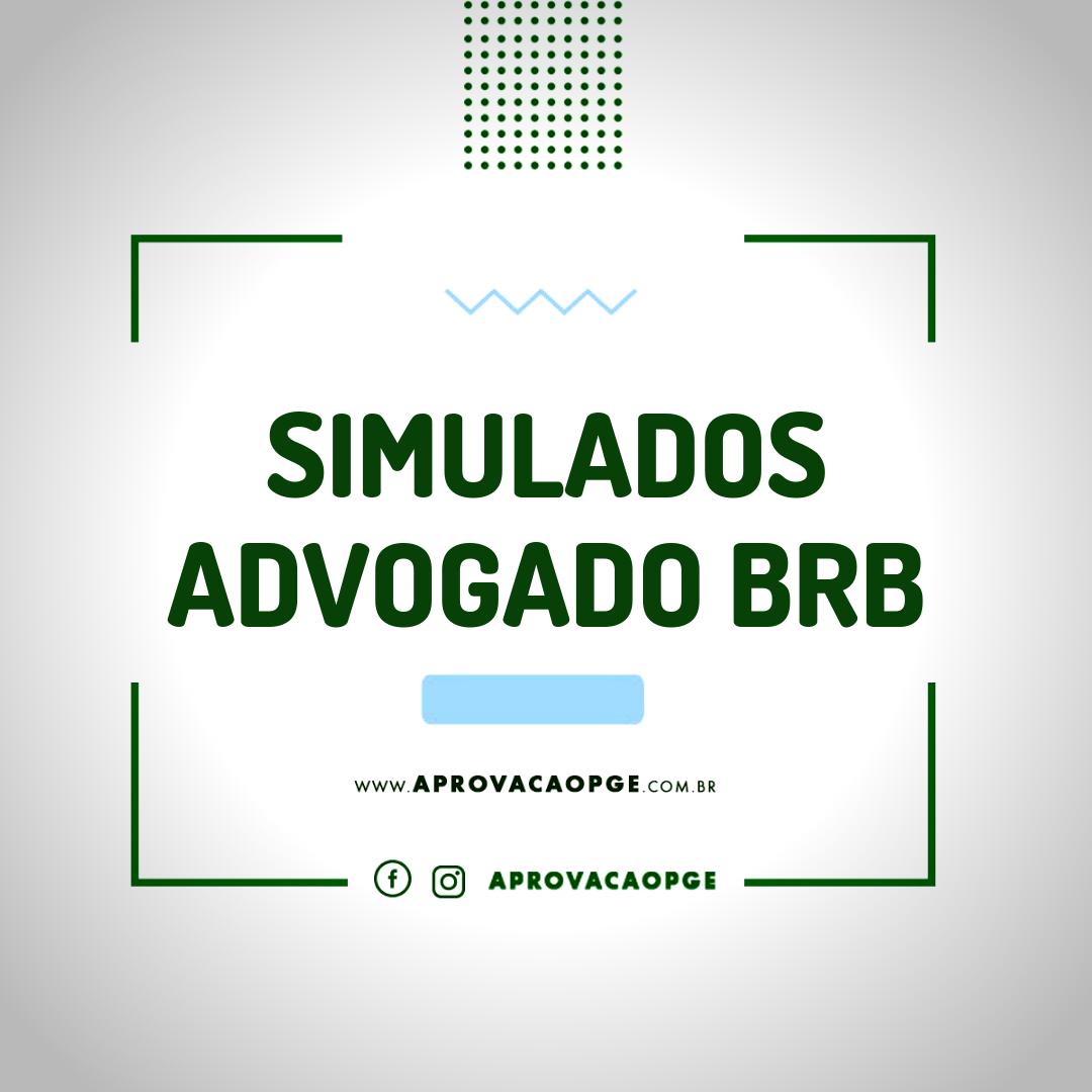 Card simulados adv brb