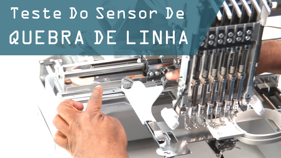 Teste sensor quebra linha