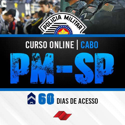 Cabo pm sp curso online 60 dias