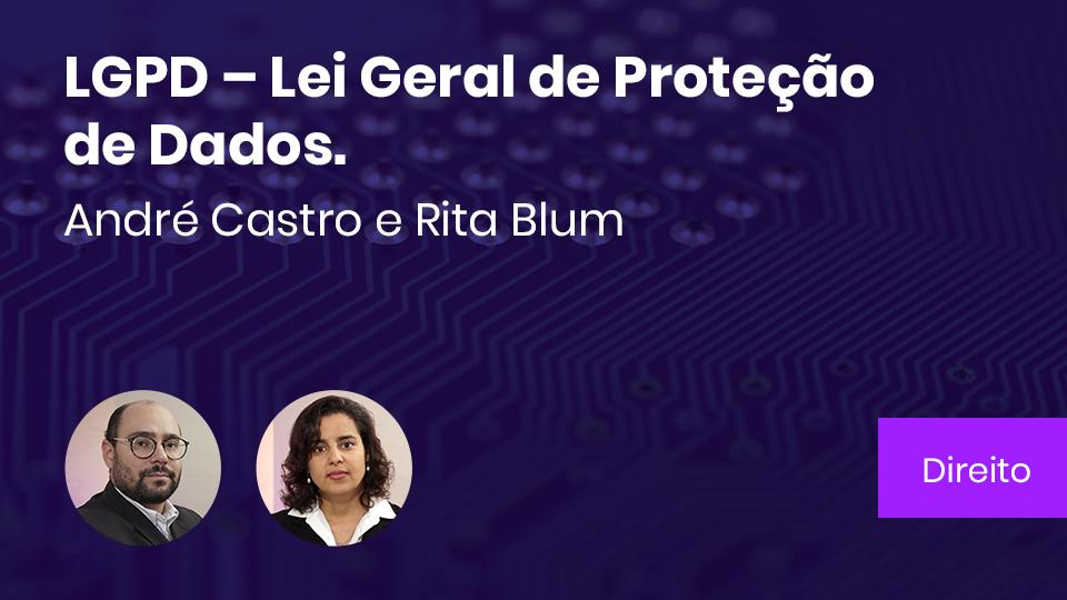 Base card lgpd lei geral de protecao de dados