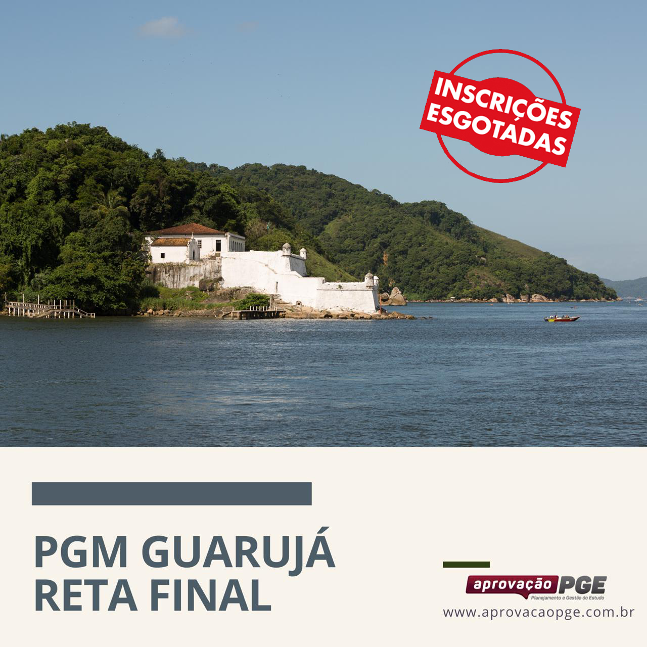 Card guaruja esgotadas