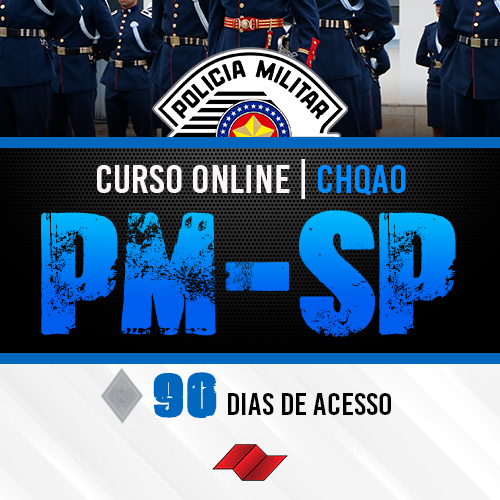Chqao pm sp curso online 90 dias