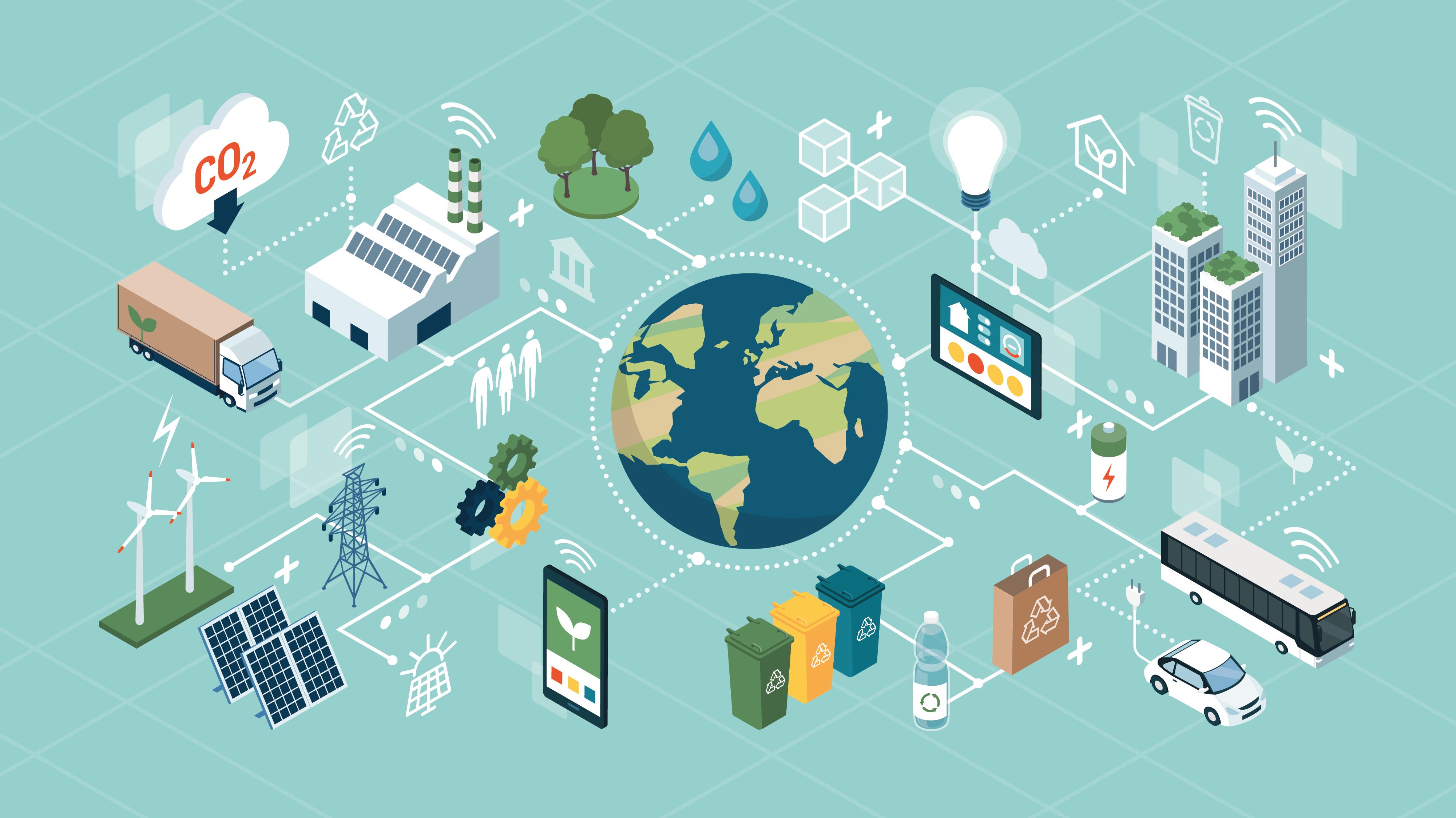 Consumo sustentabilidade card plataforma