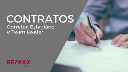 Contratos Corretor, Estagiário e Team Leader (para Brokers)