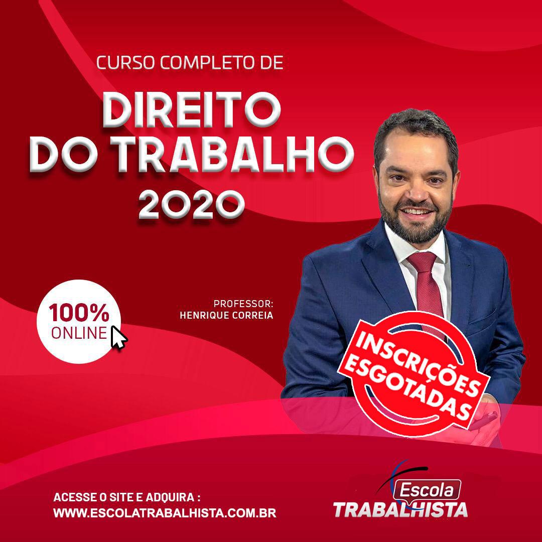 Direitotrabalho2020 et esgotado