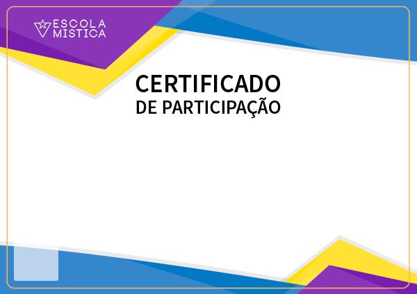 Certificado Escola Mística