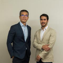 Dr. Rodrigo e Dr. Elias