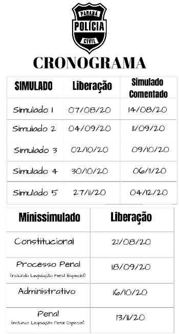 Cronograma Turma 2 - DPCPR