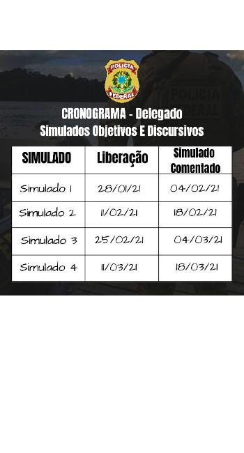 Cronograma - DPF