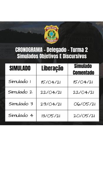 Cronograma - DPF 2