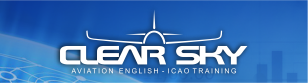 EAD - Curso Preparatório ICAO a Distância. CLEAR SKY Aviation English